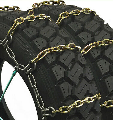 Titan HD Alloy Square Tire Chains Dual Off/On Road Ice/Snow 7mm 235/80-17
