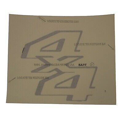 Genuine Ford 6L5Z-9925622-AA Nameplate Decal