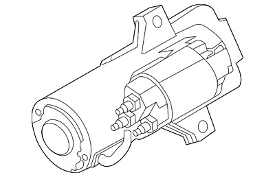 Genuine Ford Starter Motor Assembly G2MZ-11002-AQ
