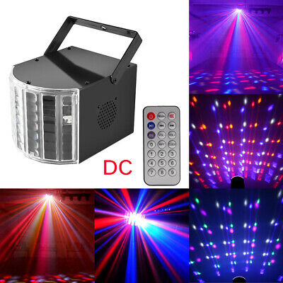 RGB Laser Stage Lighting Beam Sound Active DJ Disco Party Projector Bar + Remote