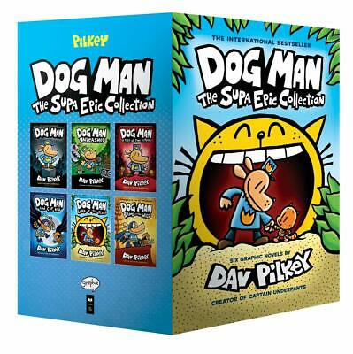 Dog Man: The Supa Epic Collection: From the Creator of Captain Underpants (1-...