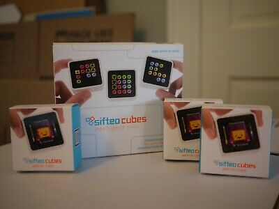 Sifteo Cubes Interactive Game System With 6 Cubes