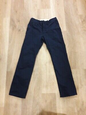 GAP KIDS chinos age 8 worn once! 135cm slim fit childs chinos navy blue ex cond!
