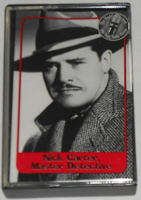 World's Greatest Old-Time Radio Shows,Nick Carter,Master Dick -AUDIO CASSETTE,GC