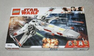LEGO Star Wars X-Wing Star Fighter NEW Factory Sealed Xwing Biggs 75218