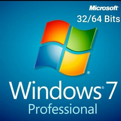 Windows 7 Professional multilenguaje🌎 32/64 Bits key🔑 + link descarga📥