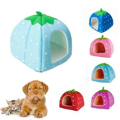 Small Medium Larg Pet Dog Bed For House Kennel Doggy Warm Cushion Basket 5 Color