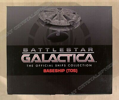 Eaglemoss Battlestar Galactica BaseShip (TOS) with Magazine #5 Base Ship - New