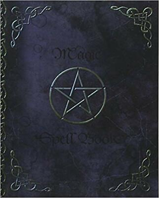 Magic Spell Book of Shadows / Grimoire Journal Blank Paperback Notebook