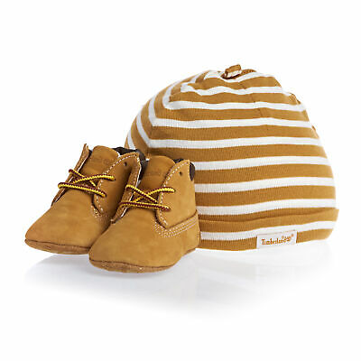 Timberland Infant Beanie And Crib Baby Footwear Shoes - Wheat All Sizes