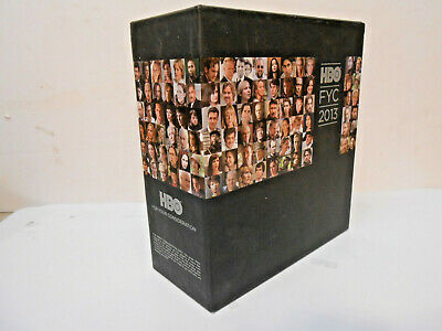 """HBO Emmy 2013 (25) DVDS PROMO Box Set """"For Your Consideration Emmy Voters Only!!"""