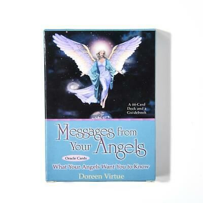 44Pcs/Set Messages From Your Angels Oracle Cards Tarot Family Party Magic Cards