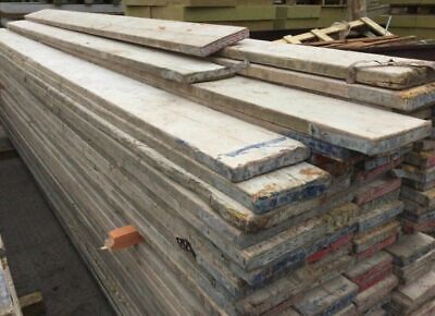 SCAFFOLDING BOARDS 8ft  Great Condition Le192hr Can Deliver Local To Leic