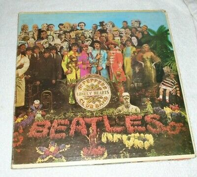 The Beatles Sgt Peppers Lonely Hearts Club Band Capitol Vinyl Lp G/F Sleeve
