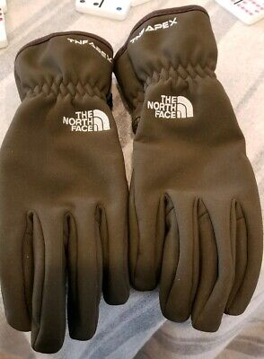 Women's The North Face TNF APEX Gloves. Dark brown. Size Small. NWOT. Perfect.