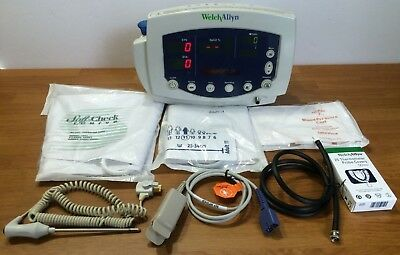 Welch Allyn 300 Series 53XXX Vital Signs Monitor NIBP BP SpO2 Temperature
