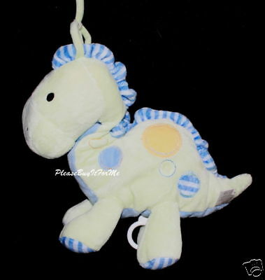 Carters Just One Year Musical Spotted Dinosaur Crib Toy