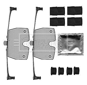 Brake Pads Front for BMW F01 F02 F03 F04 730d 08-on CHOICE3//3 3.0 N57 BB
