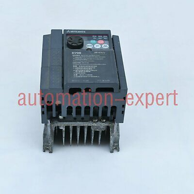 Used Mitsubishi FR-F740-1.5K-CHT1 Inverter 380V Tested It In Good Condition