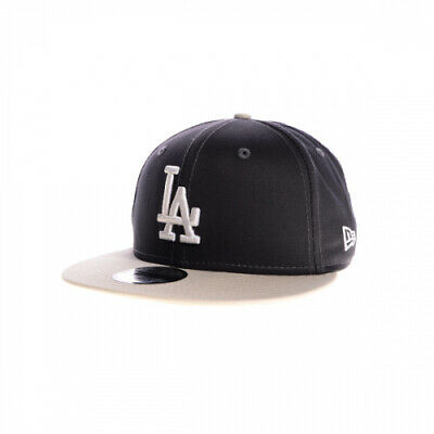 New Era Mens 9Fifty Baseball Cap Mlb La Dodgers Grey Flat Peak Snapback Hat New