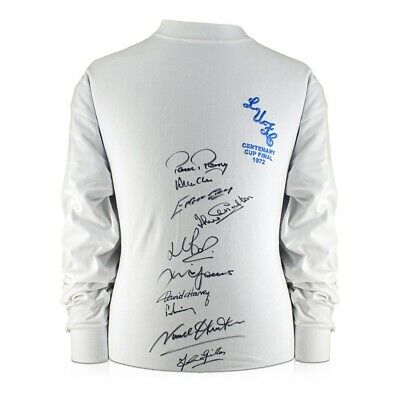 Leeds United FA Cup Shirt Signed By Ten Of The 1972 Squad | Memorabilia