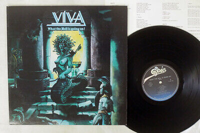 VIVA WHAT THE HELL IS GOING ON EPIC 25 3P-340 Japan VINYL LP