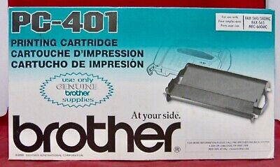 PC-401 Genuine Brother Thermal Roll Ribbon Fax 560 565 580 INTELLIFAX 560 580 /%