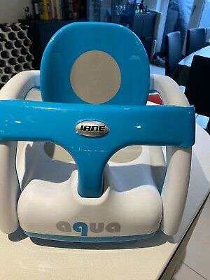 Jane aqua 2 in 1 hammock and bath seat in Blue from birth. In Good Condition.