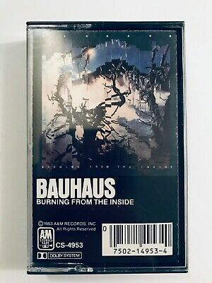 Bauhaus - Burning From the Inside Cassette Tape - Buy 4 Tapes & Save 20%!
