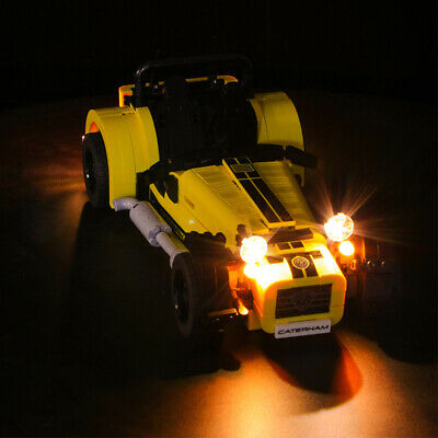 Vonado Battery Operated LED Light Kit for LEGO Carterham Classic Sport Car 21307