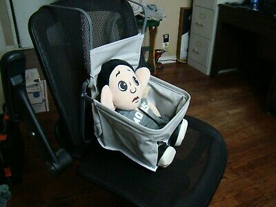 gray vintage style car seat auto child seat antique style baby seat gm grey