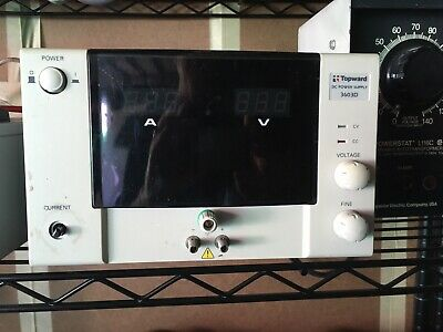Topward 3603D DC Power Supply, Working Condition