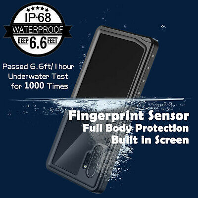 For Galaxy S10 Plus S9 S8 Note 10 9 + Waterproof Full Body Shockproof Cover Case