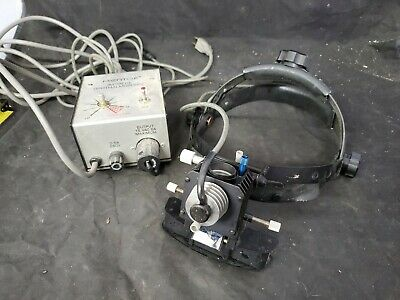 Mentor Indirect Ophthalmoscope & Transformer Model 22-7700 working (g2)