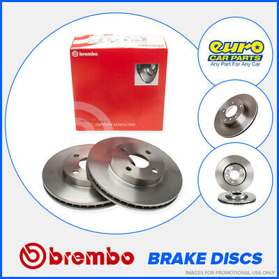 Brembo 09.5875.10 OE Quality Front Brake Discs 316mm Vented BMW 7 Series E38