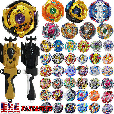 Beyblade Burst Fight Toy Power Combat Kids Top Spinning Starter Launcher USA _
