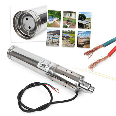 24V 864W 3m³/H Head Brushless Solar Submersible Water Pump 120M Head