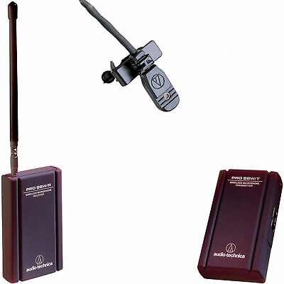 Audio-Technica PRO 88W-830 Camera Wireless Lavalier System VHF TVHF Frequency