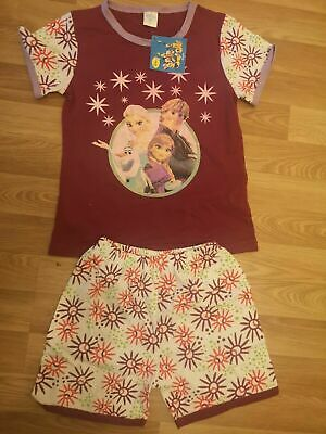 Frozen Elsa Ana Girls Shorts T-shirt Set