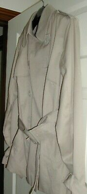 /'Sara Kelly By Ellos/' Ladies Roll Sleeve Mac Trench Coat