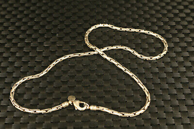 Chinese old Tibet silver blessing necklace collectable