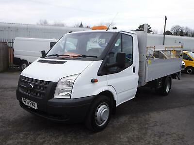 Ford Transit 2014 T350 2.2TDCi 125PS LWB 14FT Dropside Pickup with Tail lift