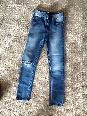 Next Boys Ripped Super Skinny Jeans Age 9 Years.
