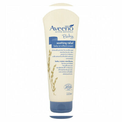 Aveeno Baby Soothing Relief Emollient Cream 223 ml Single Pack