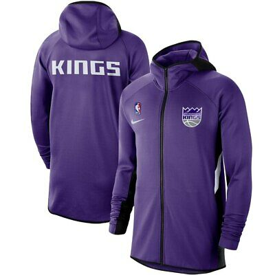 AUTHENTIC NIKE SACRAMENTO Kings Mens NBA Therma Flex Black