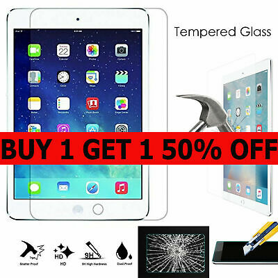 Real Tempered Glass Film Screen Protector For Apple iPad Mini 1 / 2 / 3