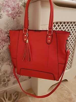 Oasis Large Two In One Shopper Tote Bag Spring Bright Colour Brand New With Tags