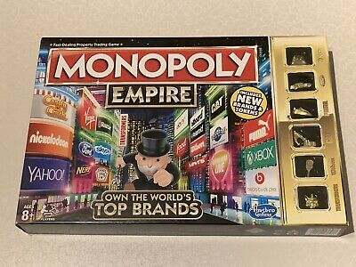 Monopoly Empire Board Game - Hasbro - 2015 Gold Ed - Complete - VGC Hardly Used