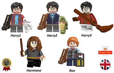 New Harry Potter Harmione Ron Hedwig Wizard Mini Figures Fits Lego Compatible