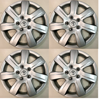 """4 x full set 16"""" Hubcaps Fits Toyota Camry  2010 2011 Wheel Cover"""